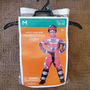Halloween Boy's Motocross Rider Costume